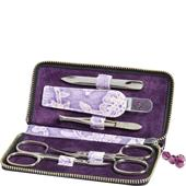 Becker Manicure - Manicure tools - Floris Case, 5-Piece, Purple