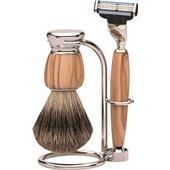 Becker Manicure - Sets de afeitado - Set de afeitado Premium Milano Mach3