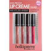 Bellápierre Cosmetics - Huulet - Kiss Proof Lip Cremes Quad