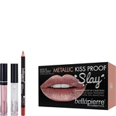 Bellápierre Cosmetics - Setit - Metallic Kiss Proof Slay Kit
