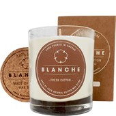 Blanche - Stearinlys med duft - Fresh Cotton