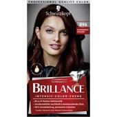Brillance - Coloration - 896 Schwarzrot Organdi Stufe 3 Intensive colour cream