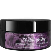 Bumble and bumble - Pielęgnacja specjalna - While You Sleep Overnight Damage Repair Masque