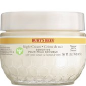 Burt's Bees - Ansigt - Sensitive Night Cream