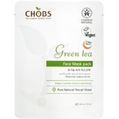 CHOBS - Masks - Face Mask Green Tea