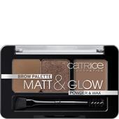 Catrice - Augenbrauenprodukte - Brow Palette Matt & Glow