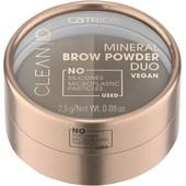 Catrice - Produkty na obočí - Mineral Brow Powder Duo
