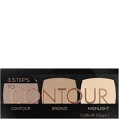 Catrice - Highlighter - 3 Steps To Contour Palette