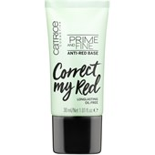 Catrice - Primer - Prime And Fine Anti-Red Base