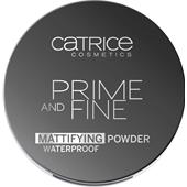 Catrice - Pohjustusvoide - Prime And Fine Mattifying Powder Waterproof