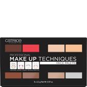 Catrice - Puder - Professional Make Up Techniques Face Palette