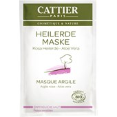 Cattier - Gesichtspflege - Rosa Heilerde Maske für empfindliche Haut