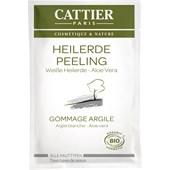Cattier - Gesichtsreinigung - Weiße Heilerde Peeling für alle Hauttypen