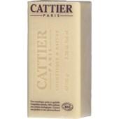Cattier - Körperpflege - Weiße Heilerde & Bio-Sheabutter & Bio-Süßmandelöl Heilerde Seife Sheabutter