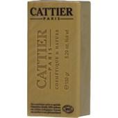 Cattier - Körperreinigung - Weiße Heilerde & Gelbe Heilerde & Bio-Lavendelhonig  Heilerde Seife mit Honig