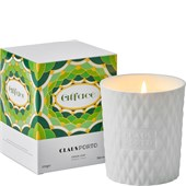 Claus Porto - Candles - Alface Green Leaf Candle