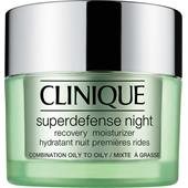Clinique - Moisturising care - Superdefense Night Recovery Moisturizer Hauttyp 3/4