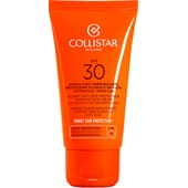 Collistar - Auto-bronzeadores - Tan Global Anti-Age Protection Tanning Face Cream SPF 30