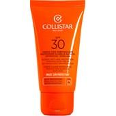 Collistar - Samoopalacze - Tan Global Anti-Age Protection Tanning Face Cream SPF 30