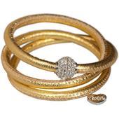 Crocus Schmuck - Bracelets - Triple-wrap magnetic bracelet 55 cm