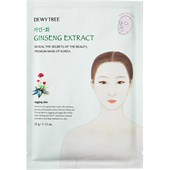 DEWYTREE - Gesichtsmasken - Ginseng Extract Mask