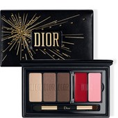 DIOR - Lippenstifte - Holiday Couture Collection Sparkling Couture Palette Satin Eyes & Lips Essentials