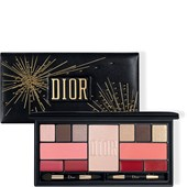 DIOR - Lippenstift - Holiday Couture Palette Sparkling Couture Palette Colour & Shine Essentials Face, Eyes & Lips