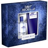 David Beckham - Classic Blue - Gift set