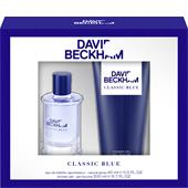David Beckham - Classic Blue - Gift Set