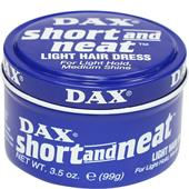 Dax - Haarstyling - Short and Neat Light Hair Dress
