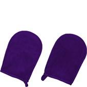 Der Original MakeUp Radierer - Gloves - Handschuhe Lila