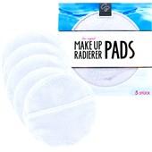 Der Original MakeUp Radierer - Pads - Pads 5er-Pack Weiß