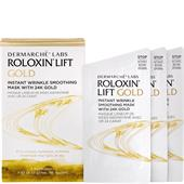 Dermarché Labs - Facial care - Roloxin Lift Instant Wrinkle Smoothing Mask 24K Gold