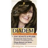 Diadem - Coloration - 724 Tummanruskea, taso 3 Silkki-värivoide
