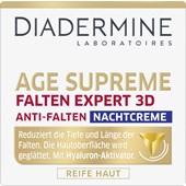 Diadermine - Night Care - Age Supreme Wrinkle Expert 3D Anti-Wrinkle Night Cream