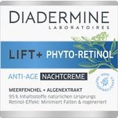 Diadermine - Night Care - Lift+ Phyto-Retinol anti-age night cream
