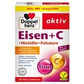 Doppelherz - Energy & Performance - IJzer + C + histidine + foliumzuur mini-tabletten