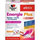 Doppelherz - Energie & Leistungsfähigkeit - Energie Plus DIRECT Koffein + Taurin + B-Vitamine
