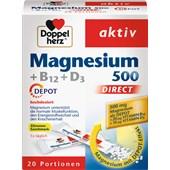 Doppelherz - Energie & Leistungsfähigkeit - Magnesium + B12 + D3
