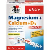 Doppelherz - Energie & Leistungsfähigkeit - Magnesium + Calcium + D3