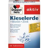 Doppelherz - Haut, Haare, Nägel - Kieselerde + Biotin + Zink Tabletten