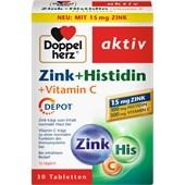 Doppelherz - Immunsystem & Zellschutz - Zink + Histidin + Vitamin C Tabletten