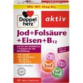 Doppelherz - Herz-Kreislauf - Jod + Folsäure + Eisen + B12