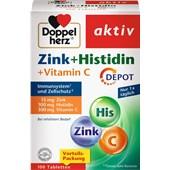 Doppelherz - Herz-Kreislauf - Zink+Histidin Depot Tabletten aktiv