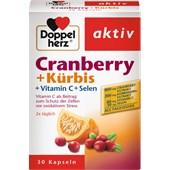 Doppelherz - Immunsystem & Zellschutz - Cranberry + Kürbis Vitamin C + Selen Kapseln