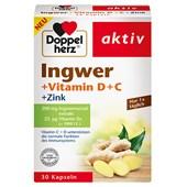 Doppelherz - Immunsystem & Zellschutz - Ingwer +Vitamin D+C +Zink
