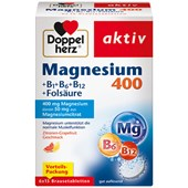 Doppelherz - Minerals & Vitamins - Magnesium Fizzy Tablets