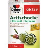 Doppelherz - Magen & Verdauung - Artischocke + Olivenöl + Curcuma Kapseln