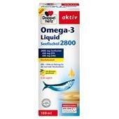 Doppelherz - Herz-Kreislauf - Omega-3 Liquid Seefischöl