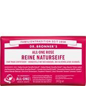 Dr. Bronner's - Körperpflege - All-One Rose Reine Naturseife